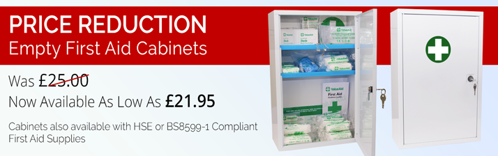 First aid cabinet offer