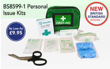 BS8599-1 Critical Injury Packs